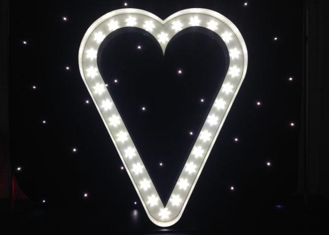 Letterlok Love Heart Sign
