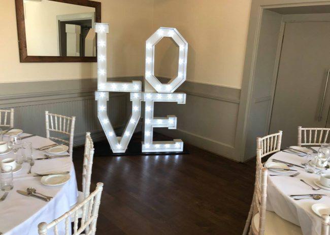 Letterlok Love Stack Sign