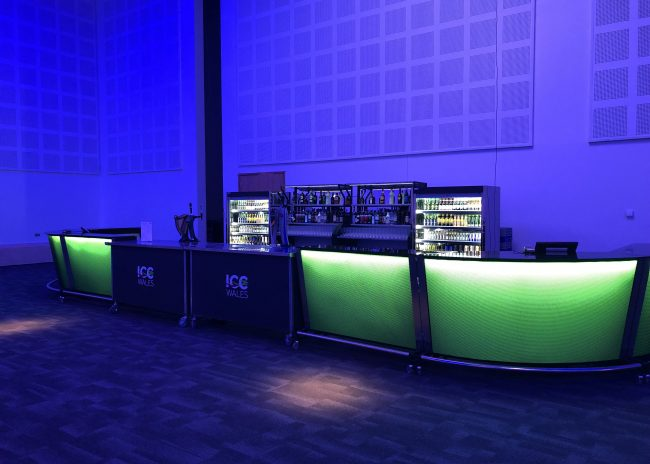 Barlok portable bar use by icc wales