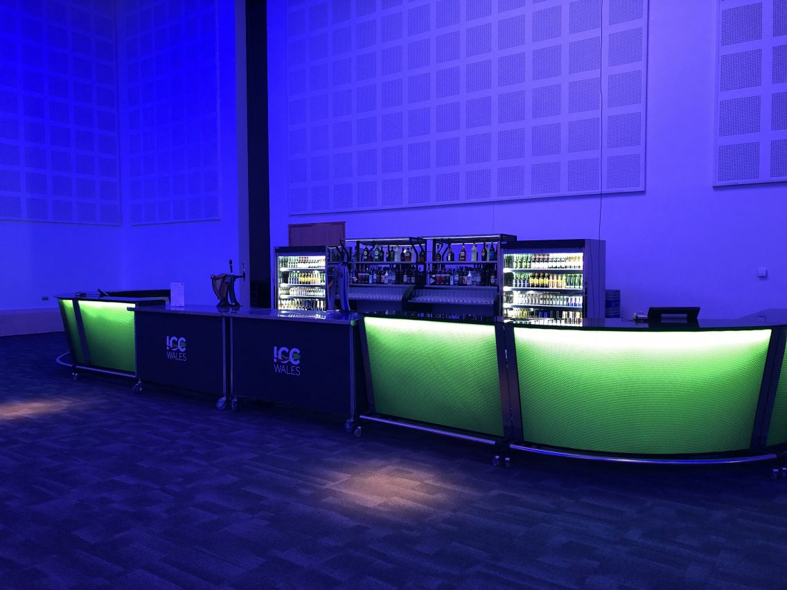 Barlok portable bar use by icc wales
