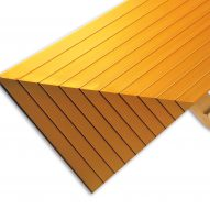 Powder Coated Gold Edging