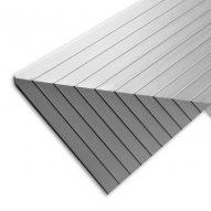 Natural Silver Aluminium Edging