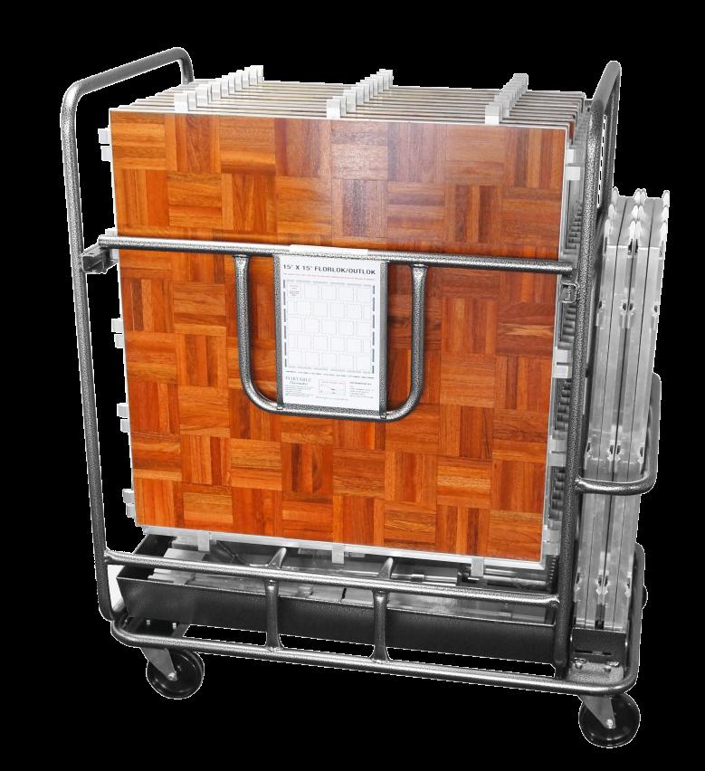 Florlok Storage Trolley