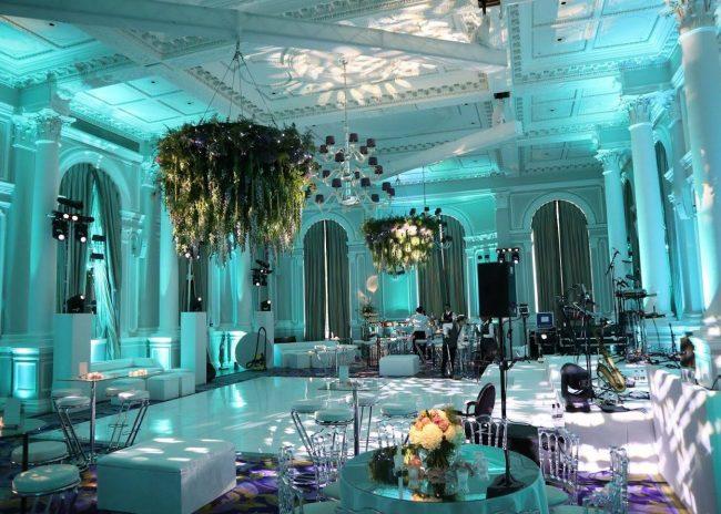 Wedlok acrylic white dance floor in Corinthia Hotell
