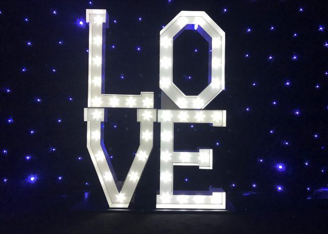 Letterlok Love Sign
