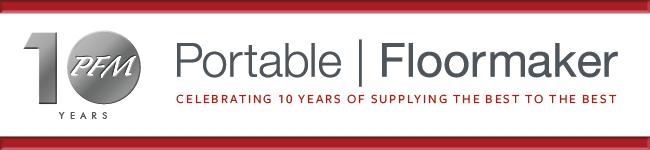 Portable Floor Maker 10 Year Celebration