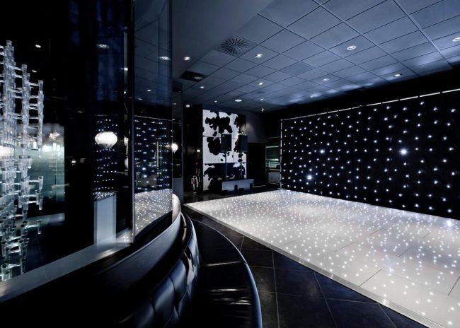 Starlok White LED Portable Dance Floor - Funky Floors