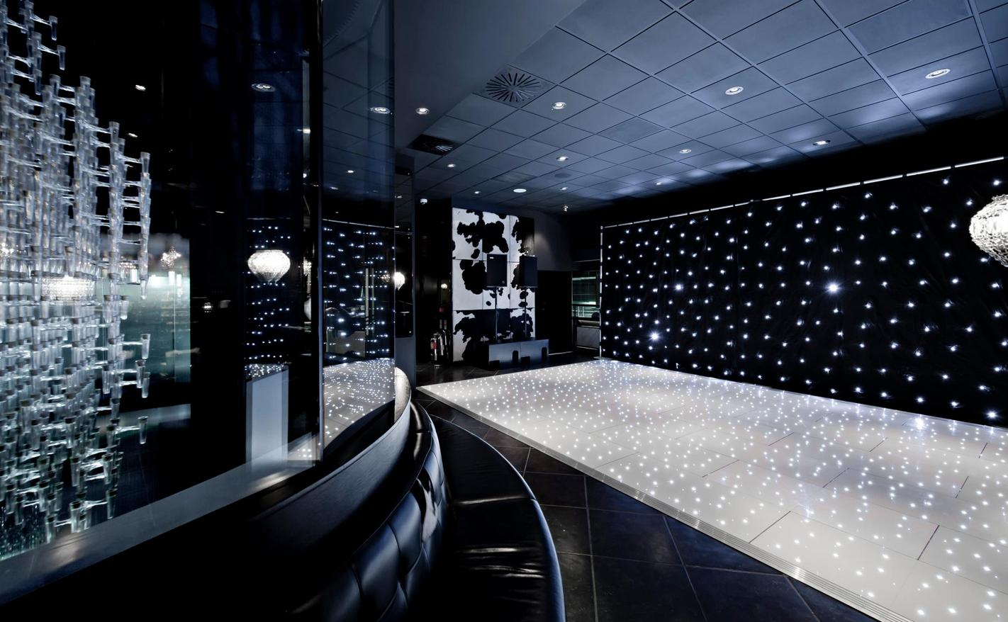 Starlok White LED Portable Dance Floor - Funky Floors