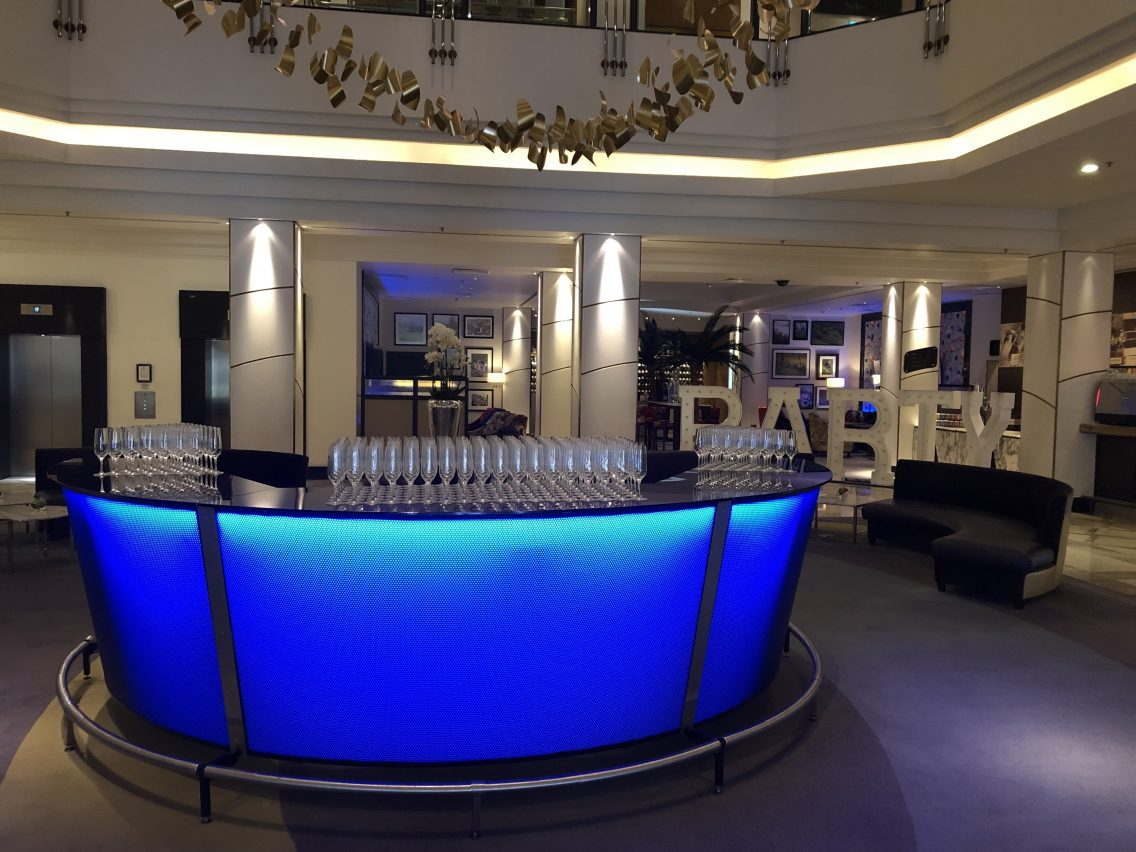 Barlok Portable Bar Revolution - Hilton Glasgow