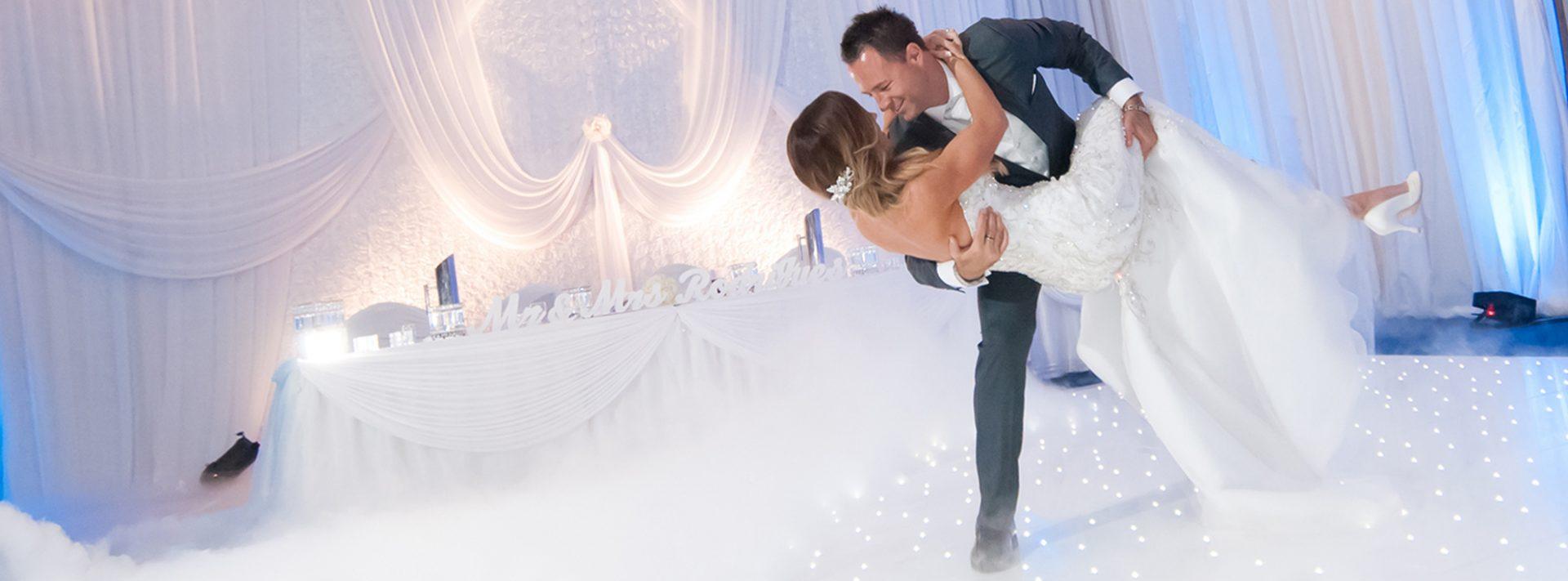 Starlok portable dance floor in Burswood on Swan Black