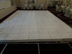 broekn wireless LED dance floor