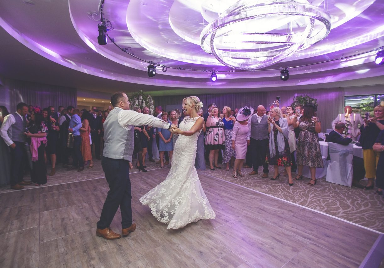 Multilok Distressed Oak Portable Dance Floor - Grantley Hall