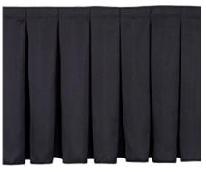 Pleated Stage Skirt
