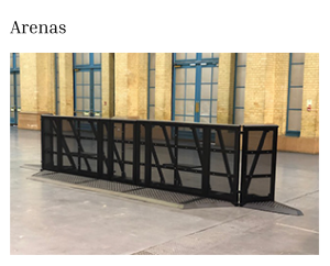 Crowd Management Barriers for Arenas