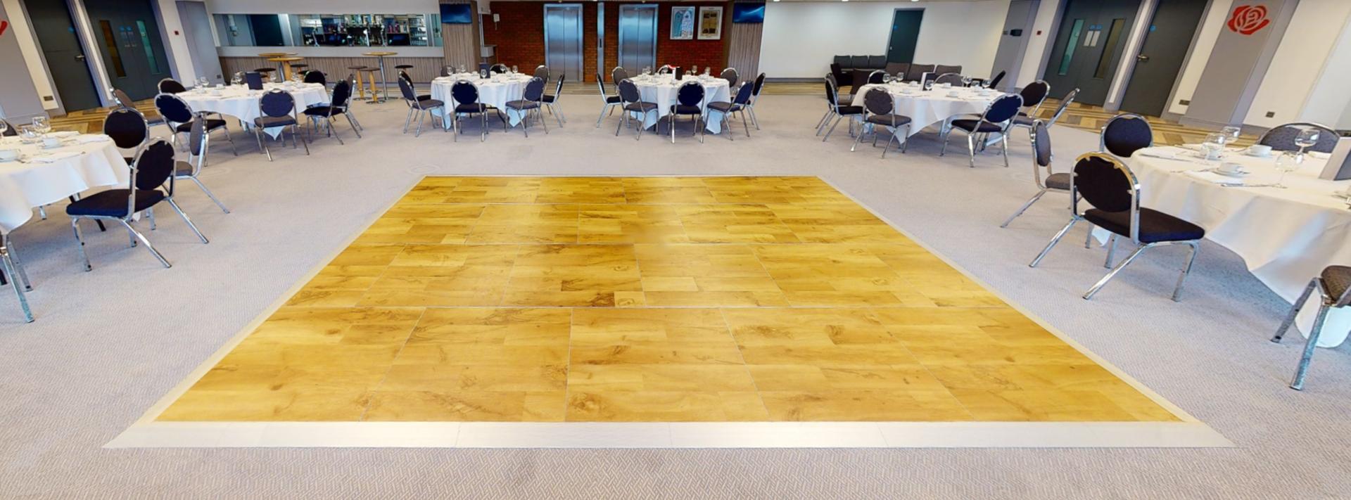 Portable Dance Floor in Blackburn Rovers